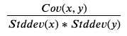 Descriptive Statistics: Covariance